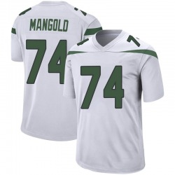 Game Youth Nick Mangold New York Jets Nike Jersey - Spotlight White