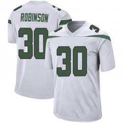 Game Youth Rashard Robinson New York Jets Nike Jersey - Spotlight White