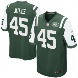 Game Youth Rontez Miles New York Jets Nike Team Color Jersey - Green