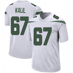 Game Youth Ryan Kalil New York Jets Nike Jersey - Spotlight White