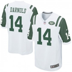 Game Youth Sam Darnold New York Jets Nike Jersey - White