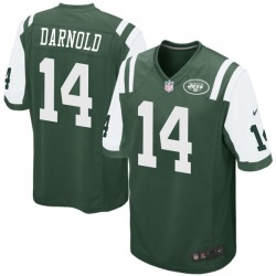 Game Youth Sam Darnold New York Jets Nike Team Color Jersey - Green