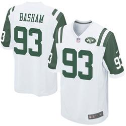 Game Youth Tarell Basham New York Jets Nike Jersey - White