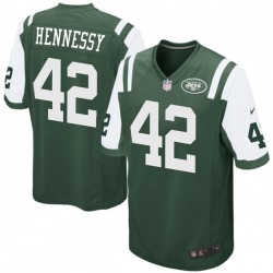 Game Youth Thomas Hennessy New York Jets Nike Team Color Jersey - Green