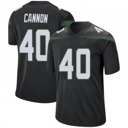 Game Youth Trenton Cannon New York Jets Nike Jersey - Stealth Black
