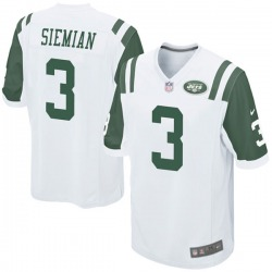 Game Youth Trevor Siemian New York Jets Nike Jersey - White