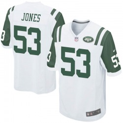 Game Youth Tyler Jones New York Jets Nike Jersey - White