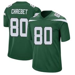 Game Youth Wayne Chrebet New York Jets Nike Jersey - Gotham Green