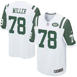 Game Youth Wyatt Miller New York Jets Nike Jersey - White