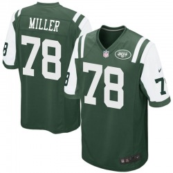 Game Youth Wyatt Miller New York Jets Nike Team Color Jersey - Green