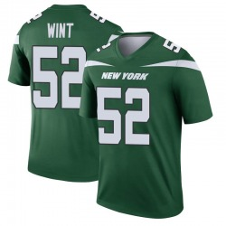 Legend Men's Anthony Wint New York Jets Nike Player Jersey - Gotham Green