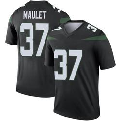 Legend Men's Arthur Maulet New York Jets Nike Color Rush Jersey - Stealth Black