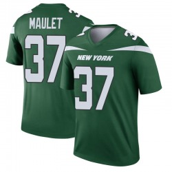 Legend Men's Arthur Maulet New York Jets Nike Player Jersey - Gotham Green