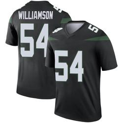 Legend Men's Avery Williamson New York Jets Nike Color Rush Jersey - Stealth Black