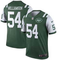 Legend Men's Avery Williamson New York Jets Nike Jersey - Green