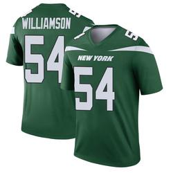 Legend Men's Avery Williamson New York Jets Nike Player Jersey - Gotham Green