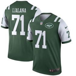 Legend Men's Ben Ijalana New York Jets Nike Jersey - Green