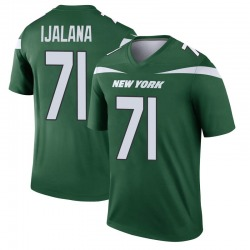 Legend Men's Ben Ijalana New York Jets Nike Player Jersey - Gotham Green