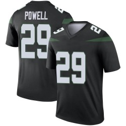 Legend Men's Bilal Powell New York Jets Nike Color Rush Jersey - Stealth Black