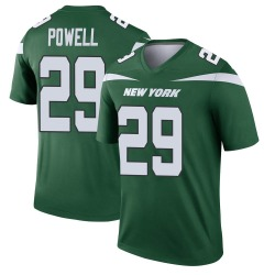 Legend Men's Bilal Powell New York Jets Nike Player Jersey - Gotham Green