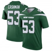 Legend Men's Blake Cashman New York Jets Nike Player Jersey - Gotham Green