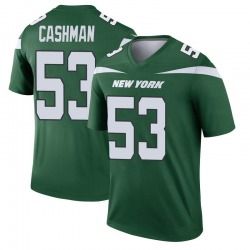 Legend Men's Blake Cashman New York Jets Nike Player Jersey - Gotham Green