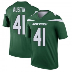 Legend Men's Blessuan Austin New York Jets Nike Player Jersey - Gotham Green