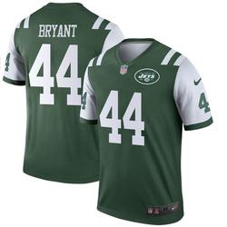 Legend Men's Brandon Bryant New York Jets Nike Jersey - Green