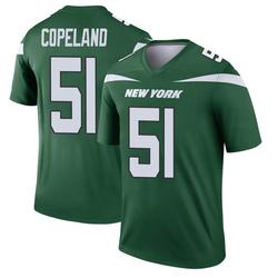 Legend Men's Brandon Copeland New York Jets Nike Player Jersey - Gotham Green