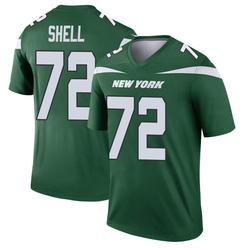 Legend Men's Brandon Shell New York Jets Nike Player Jersey - Gotham Green