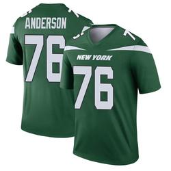 Legend Men's Calvin Anderson New York Jets Nike Player Jersey - Gotham Green