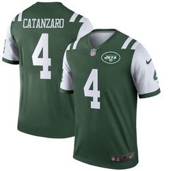 Legend Men's Chandler Catanzaro New York Jets Nike Jersey - Green