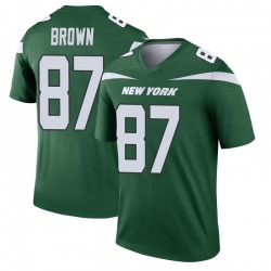 Legend Men's Daniel Brown New York Jets Nike Player Jersey - Gotham Green