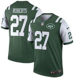 Legend Men's Darryl Roberts New York Jets Nike Jersey - Green