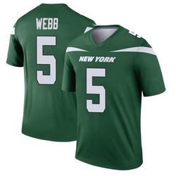 Legend Men's Davis Webb New York Jets Nike Player Jersey - Gotham Green