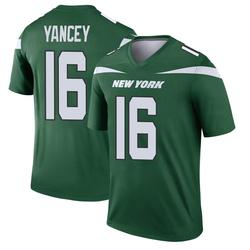 Legend Men's DeAngelo Yancey New York Jets Nike Player Jersey - Gotham Green