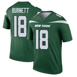 Legend Men's Deontay Burnett New York Jets Nike Player Jersey - Gotham Green