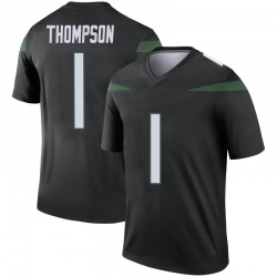 Legend Men's Deonte Thompson New York Jets Nike Color Rush Jersey - Stealth Black
