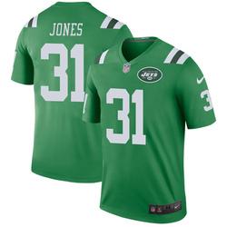 Legend Men's Derrick Jones New York Jets Nike Color Rush Jersey - Green