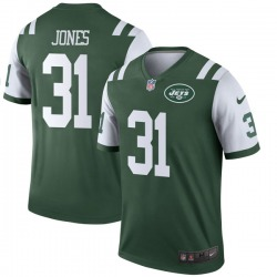 Legend Men's Derrick Jones New York Jets Nike Jersey - Green