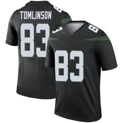 Legend Men's Eric Tomlinson New York Jets Nike Color Rush Jersey - Stealth Black