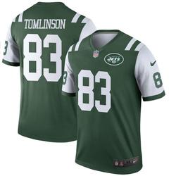 Legend Men's Eric Tomlinson New York Jets Nike Jersey - Green