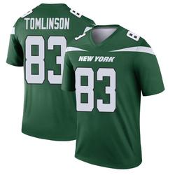 Legend Men's Eric Tomlinson New York Jets Nike Player Jersey - Gotham Green