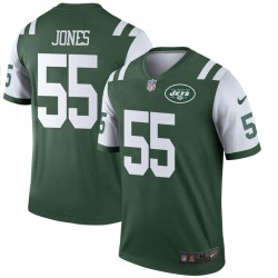 Legend Men's Fredrick Jones New York Jets Nike Jersey - Green