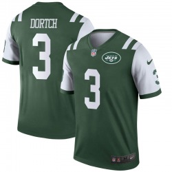 Legend Men's Greg Dortch New York Jets Nike Jersey - Green