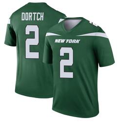 Legend Men's Greg Dortch New York Jets Nike Player Jersey - Gotham Green