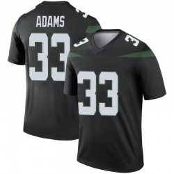 Legend Men's Jamal Adams New York Jets Nike Color Rush Jersey - Stealth Black