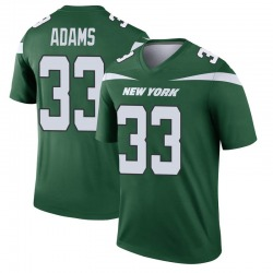 Legend Men's Jamal Adams New York Jets Nike Player Jersey - Gotham Green