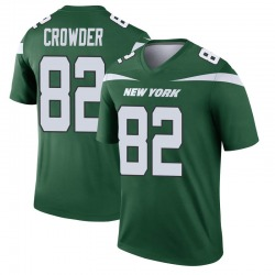 Legend Men's Jamison Crowder New York Jets Nike Player Jersey - Gotham Green