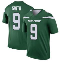 Legend Men's Jeff Smith New York Jets Nike Player Jersey - Gotham Green